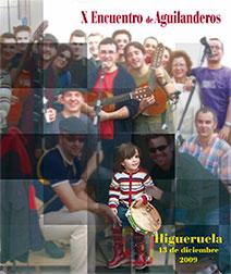 Cartel X Encuentro Aguilanderos Diputación Albacete 2009